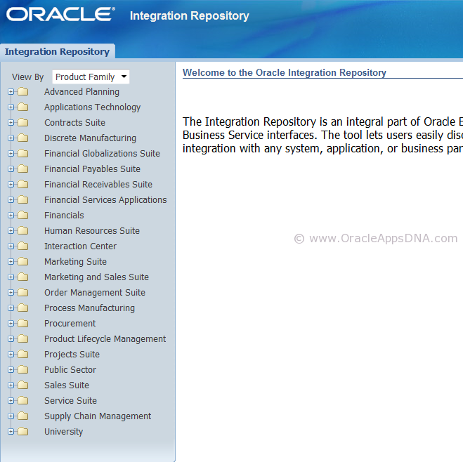 Integration Repository_Integrated SOA Gateway