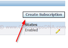 4.Business Event Create Subscription