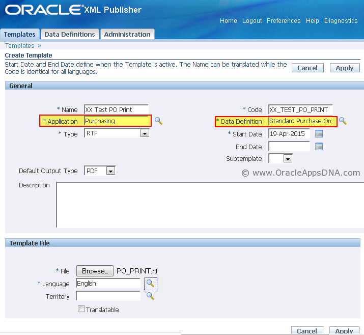 FAQs on PO Output for Communication Report | OracleAppsDNA