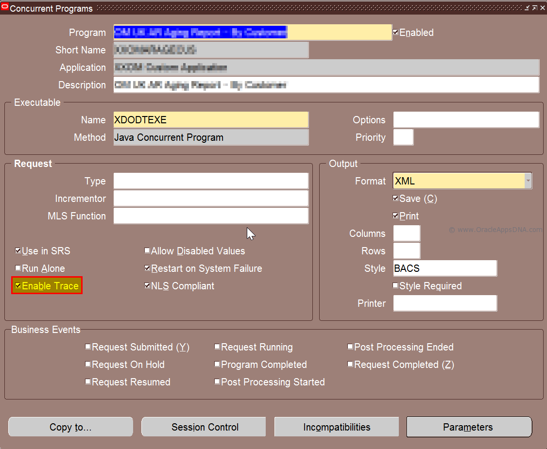 How to Generate Trace for a Seeded or Custom Concurrent